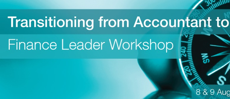 Transitioning From Accountant to Finance Leader Workshop