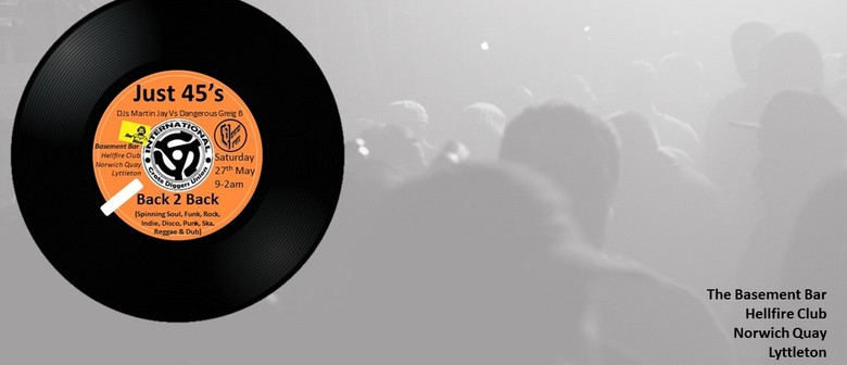 "Just 45s – A Night of  7"" Pleasures"