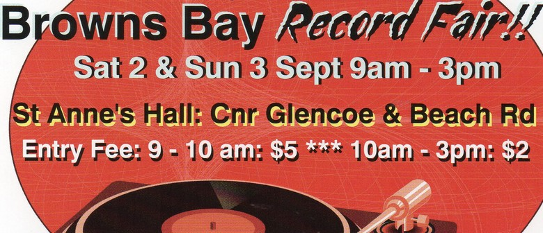 Father's Day Browns Bay Vinyl Record Fair