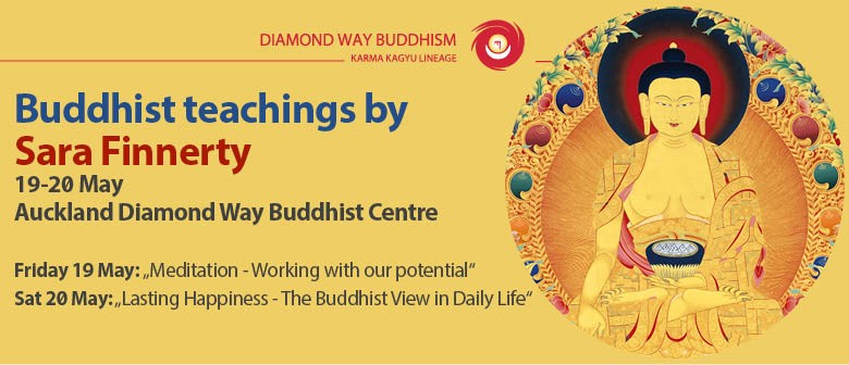 Series of Buddhist Lectures By Guest Teacher Sara Finnerty