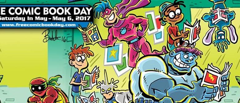 Comic Capers In Children's: International Comic Book Day