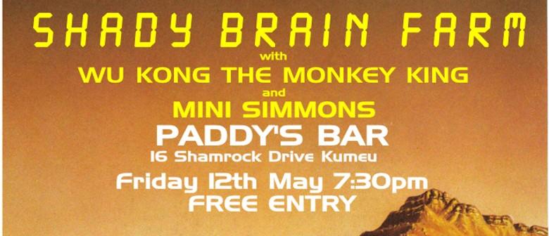 Shady Brain Farm with WuKong The Monkey King & Mini Simmons