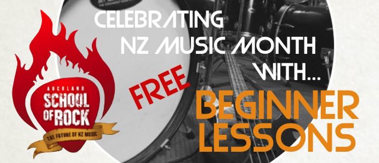 Beginner Music Lessons