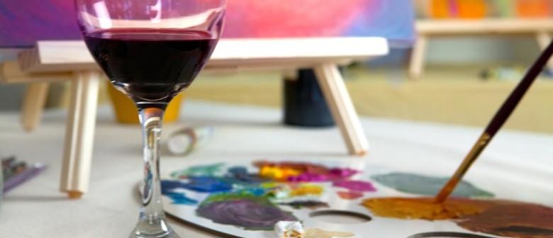 Taste a Beverage... Colour a Masterpiece