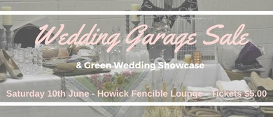 Recycled Weddings Garage Sale & Green Wedding Showcase