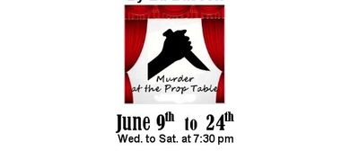 Murder At the Prop Table By Ed Bassett