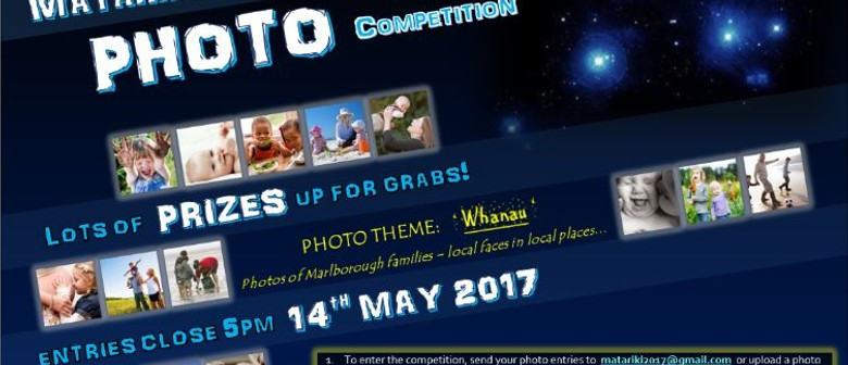Matariki Calendar Photo Competition