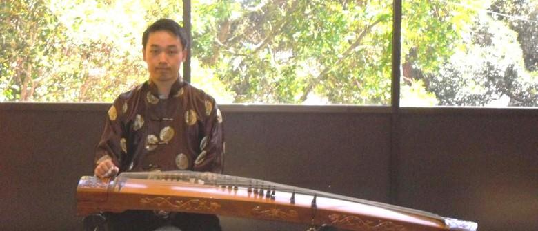 Gu Zheng Bby Joseph Ngui At the NZ Music Month Celebration