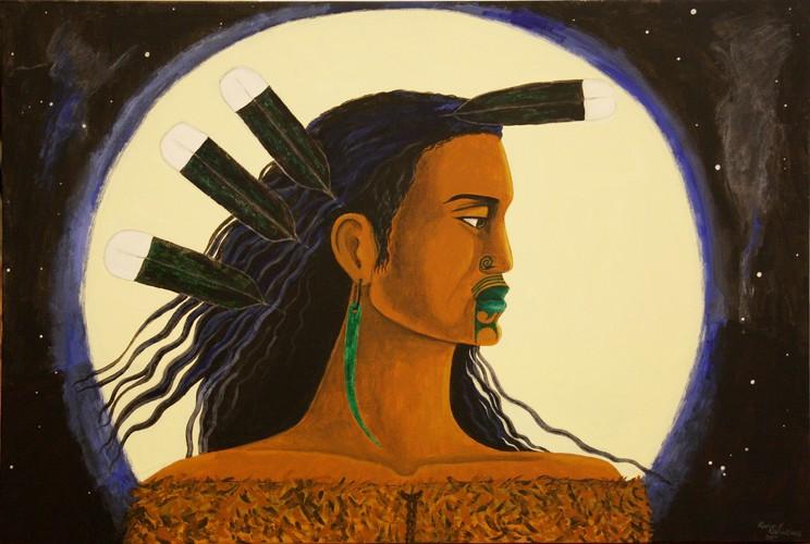 Maori Tapu: Robyn Kahukiwa Upoko Tapu (Sacred Head)
