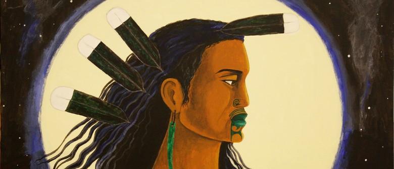 Robyn Kahukiwa Upoko Tapu (Sacred Head)
