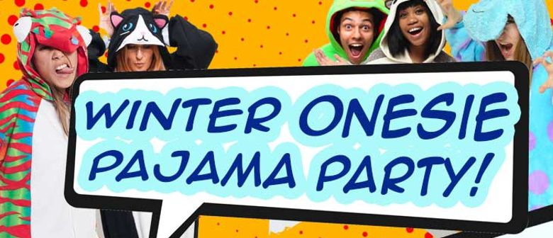 Winter Onesie Pajama Party
