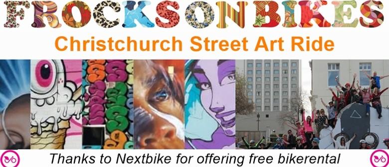 Street Art Ride - Frocks On Bikes Christchurch