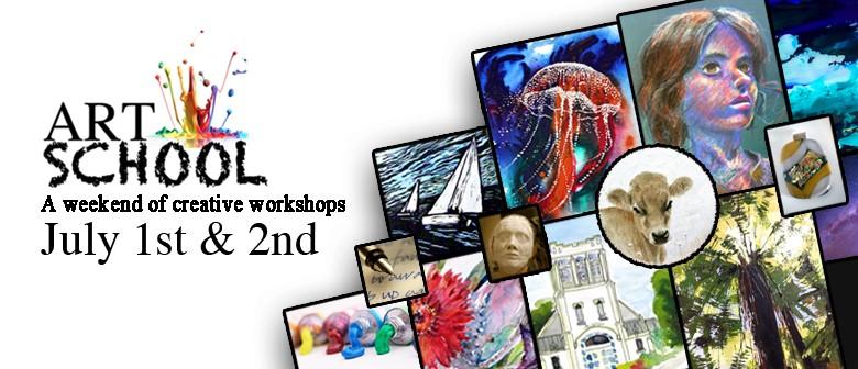 Art School: 2 Days, 10 Tutors, 15 Art Workshops