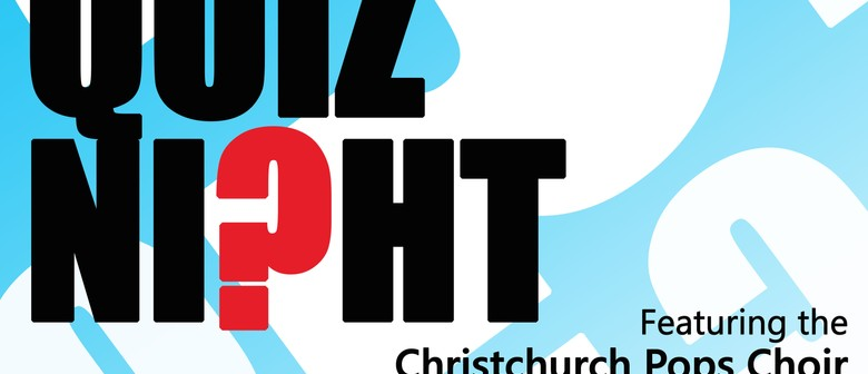 Not Just a Quiz... Night: SOLD OUT