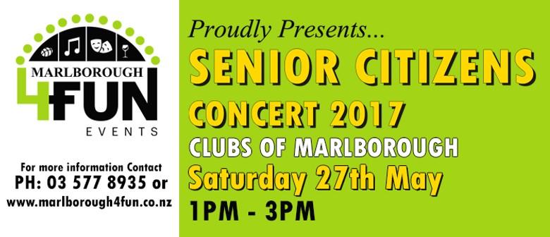 Senior Citizens Concert 2017