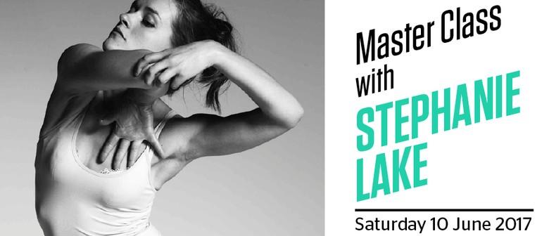 Dance Masterclass With Stephanie Lake