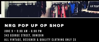 NRG Pop Up Op Shop