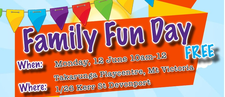 Playcentre Family Fun Day