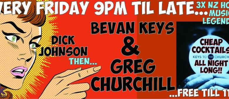 Dick Johnson, Bevan Keys & Greg Churchill