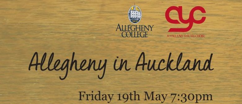 Auckland Youth Choir & Allegheny Choir From USA