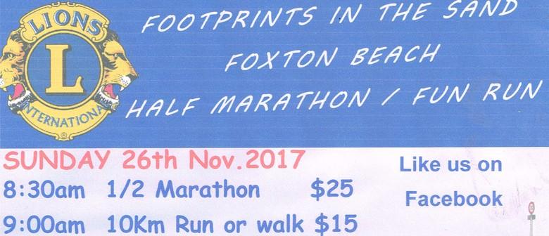 Footprint In the Sand Half Marathon - Fun Run