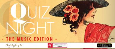 Alliance Française Quiz Night  - The Music Edition