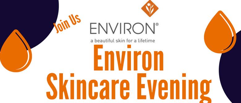 Free Environ Skincare Information Event
