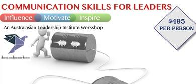Communication Skills Training For Leaders