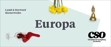 Lamb & Hayward Masterworks: Europa