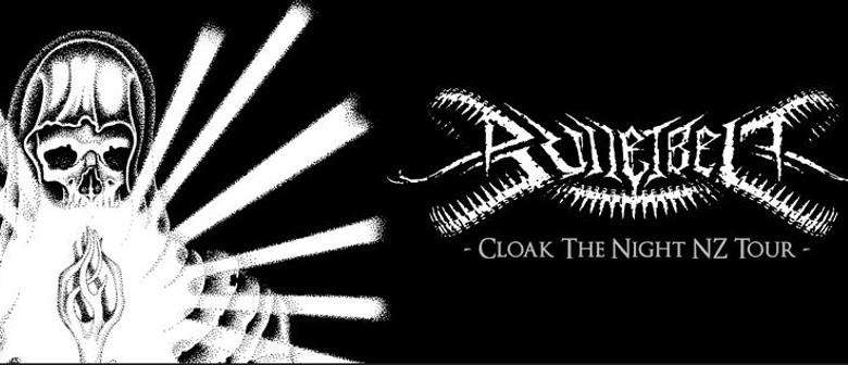 Bulletbelt - Cloak The Night NZ Tour