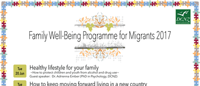 Family Well-Being Programme for Migrants 2017