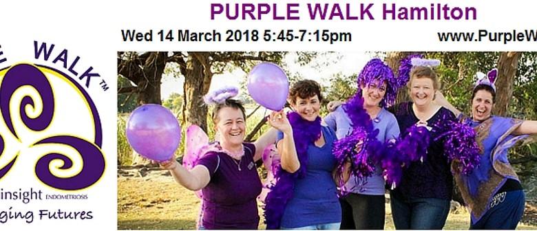 Purple Walk for Endometriosis 2018