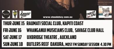 Claude Hay Roller Coaster Release Tour