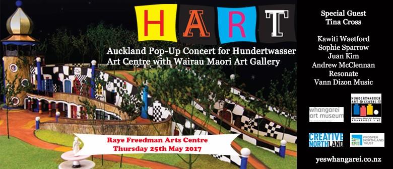 HART - Auckland Pop-Up Concert for Hundertwasser Art Centre