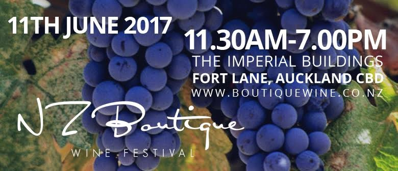 New Zealand Boutique Wine Festival 2017