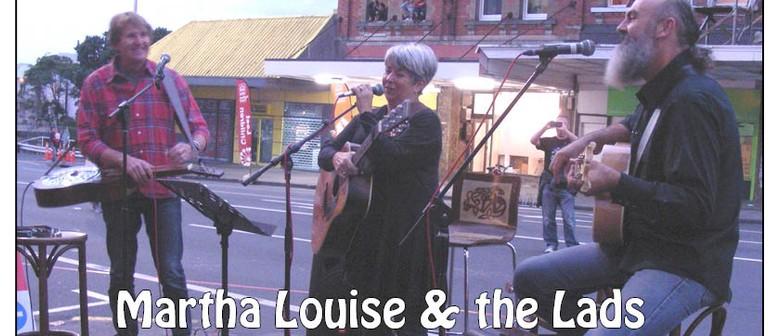 Martha Louise and The Lads At the East Coast Folk Club