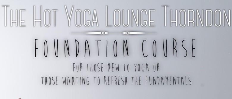 The Yoga Lounge Foundation Workshop
