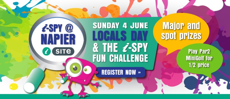Locals Day & i-SPY Fun Challenge