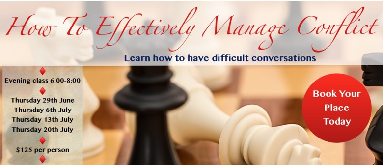 How To Effectively Manage Conflict