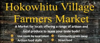 Hokowhitu Village Farmers Market
