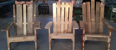 Build a Cape Cod Style Deck Chair