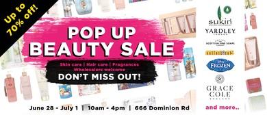 Pop-Up Beauty Sale