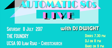 AutoMatic 80s Synthplicity Tour