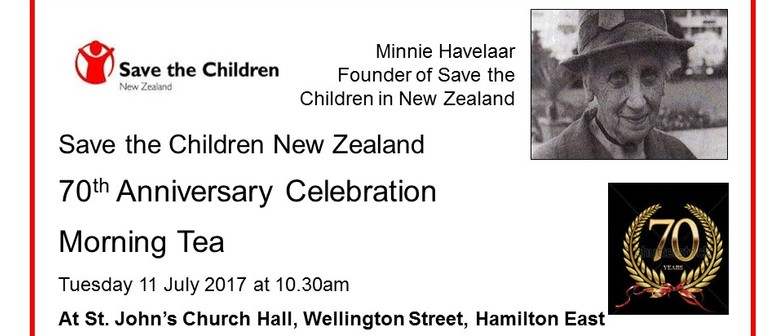 Save the Children 70th Anniversary Morning Tea