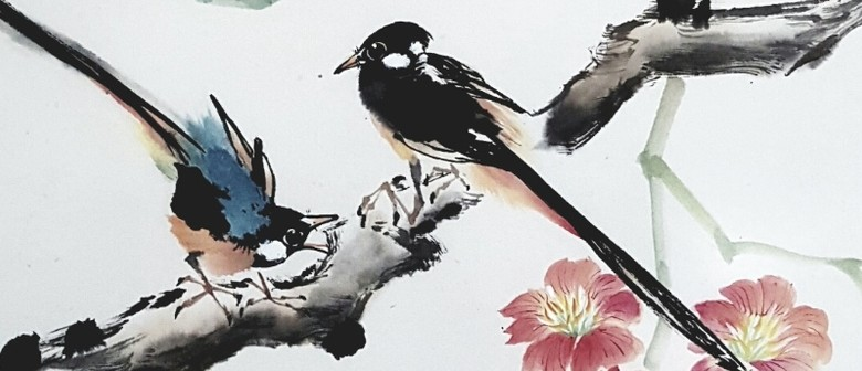 Chinese Watercolour & Ink Painting - Birds (Level 1)