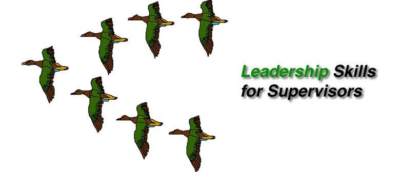 Leadership Skills for Supervisors