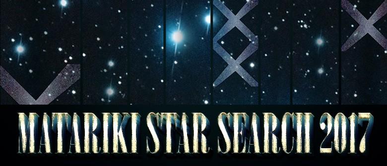 Matariki Star Search 2017 Auditions