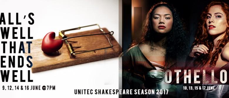 The 2017 Shakespeare Season