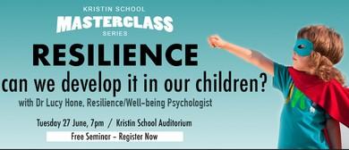 Dr Lucy Hone - Kristin School Masterclass