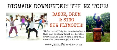 Dance, Drum & Sing with Bismark: New Plymouth